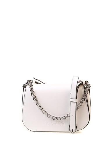 Calvin Klein Clutch / El Çantası Beyaz